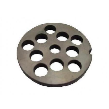 Grille acier pour hachoir à viande n°5 Ø12 REBER