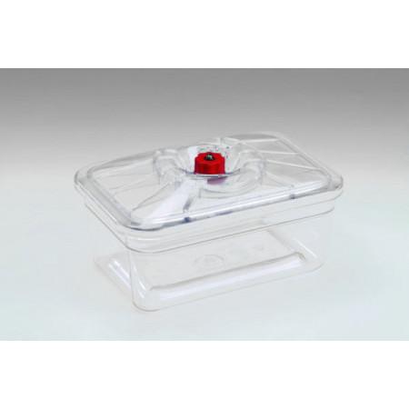 Plat rectangle avec couvercle 10x13cm REBER