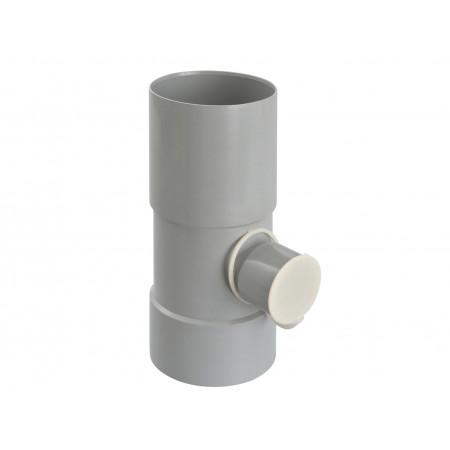 Récupérateur d'eau de pluie à fermeture D100/50 Gris
