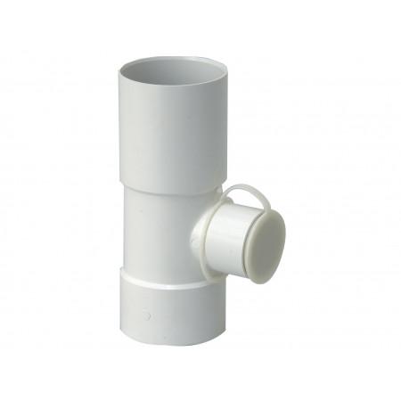 Récupérateur d'eau de pluie à fermeture D80/50 Blanc
