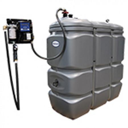 Cuve de stockage intérieur Fuel PEHD 1500L