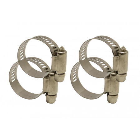 Lot de 4 Colliers De Serrage Inox