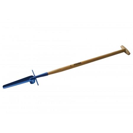 Désherbeur couteau à pelouse emmanché béquille REVEX