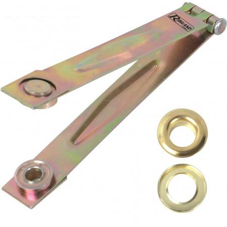Pince + 50 oeillets métal