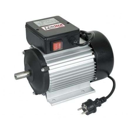 Moteur électrique 2 cv Mono 2750 tr/min avec interrupteur