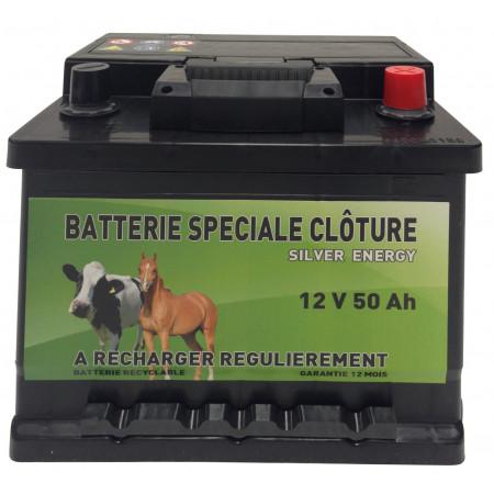 Batterie de clôture 12V 50 Ah