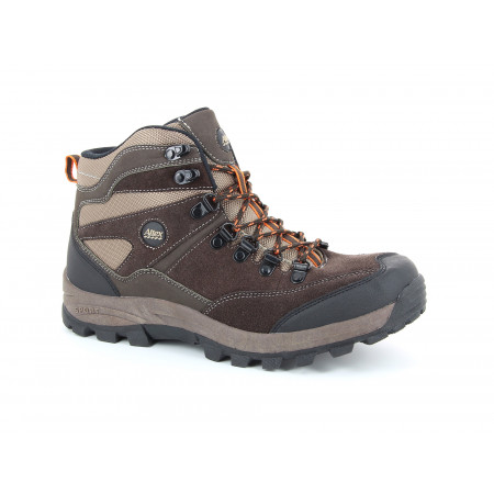 Chaussures de travail hautes Trekking kaki