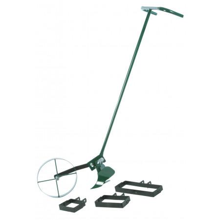 Sarcleuse à pousser + 4 outils TOMPRESS