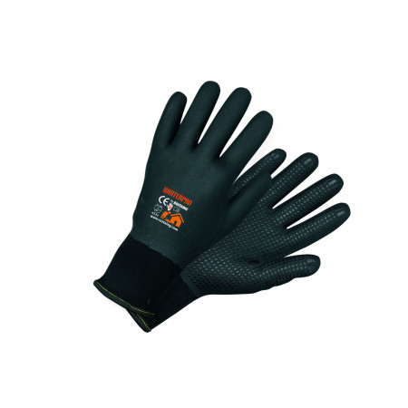 Gants gros travaux d'hiver nitrile ROSTAING