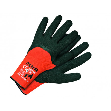 Gants gros travaux d'hiver tricot ROSTAING