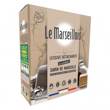 Lessive détachante au savon de Marseille LE MARSEILLOIS