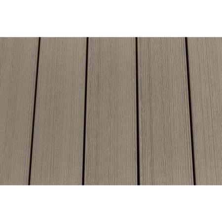 Lame de terrasse bois composite SYLWAY Premium sable 3m