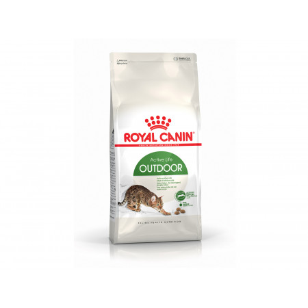 Croquettes chat adulte Outdoor ROYAL CANIN 2kg
