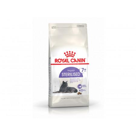 Croquettes chat adulte stérilisé +7ans ROYALCANIN 1,5kg