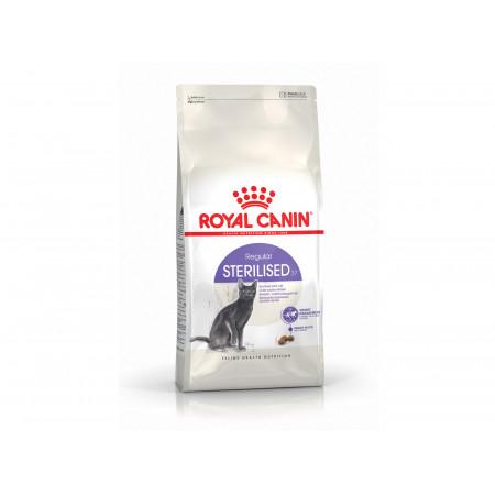 Croquettes chat adulte stérilisé STERILISED37 ROYALCANIN 400g