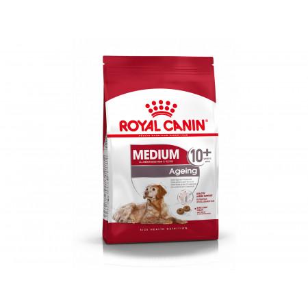 Croquettes chien moyen adulte +10ans ROYALCANIN 3kg