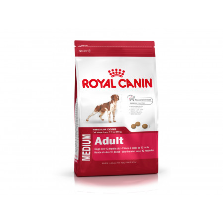 Croquettes chien moyen adulte ROYALCANIN 4kg