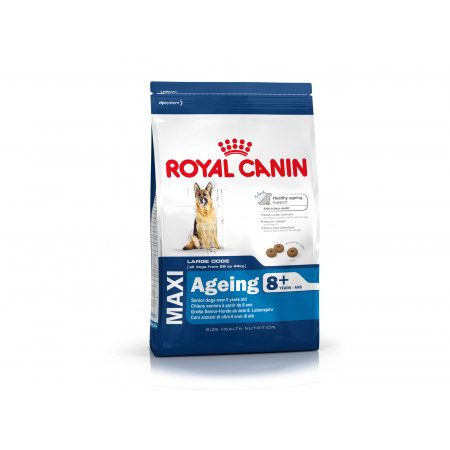 Croquettes grand chien adulte +8ans ROYAL CANIN 15kg