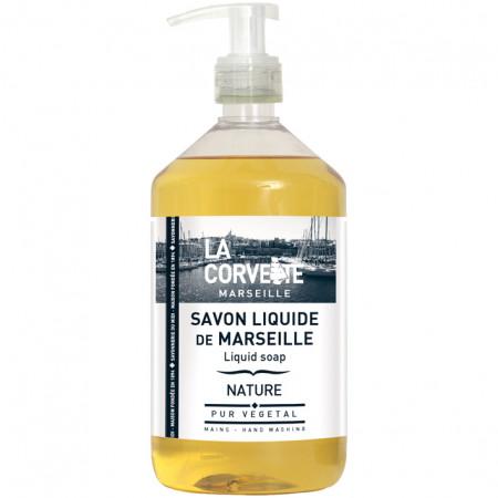 Savon liquide de Marseille Nature 500ml LA CORVETTE