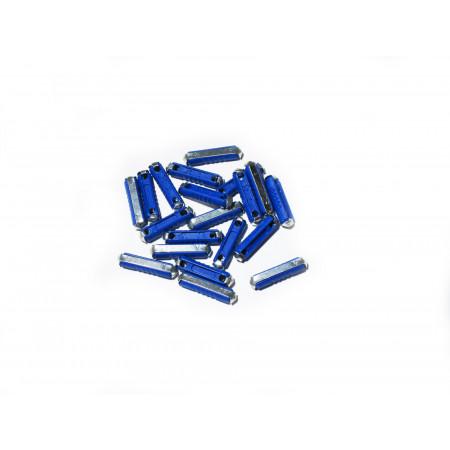 10 Fusibles en porcelaine bleus de 25A