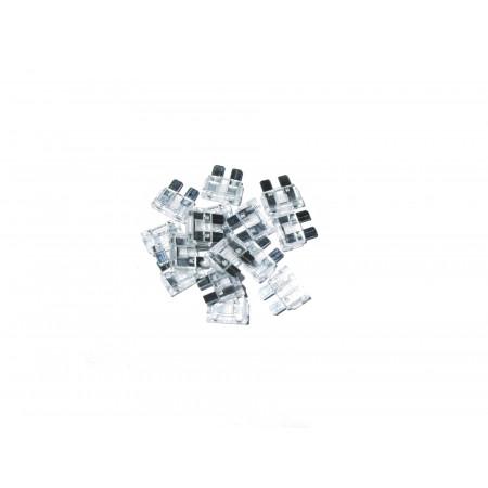 10 Fusibles lamellaire blancs de 25A