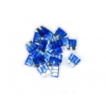 10 Fusibles lamellaire bleus de 15A