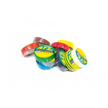 10 rouleaux d'isolant adhésif de couleur