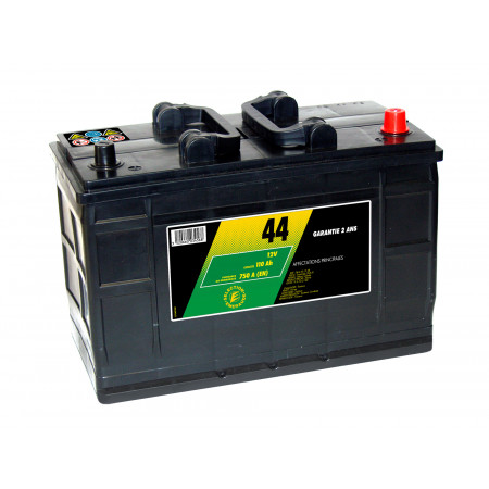 Batterie 12V N°44 Sélection Emeraude 110AH/750A