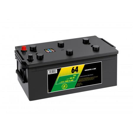 Batterie 12V N°64 Sélection Emeraude 180AH/1000A