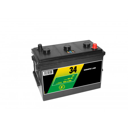 Batterie N°34 6V 165AH/900A