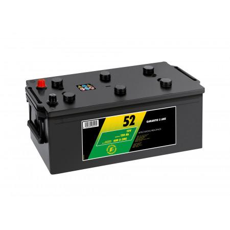 Batterie N°52 12V 120AH/680A