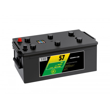 Batterie N°57 12V 140AH/800A
