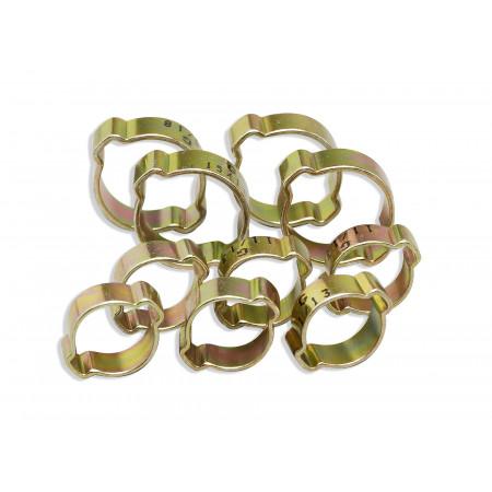Colliers de serrage à oreille X10