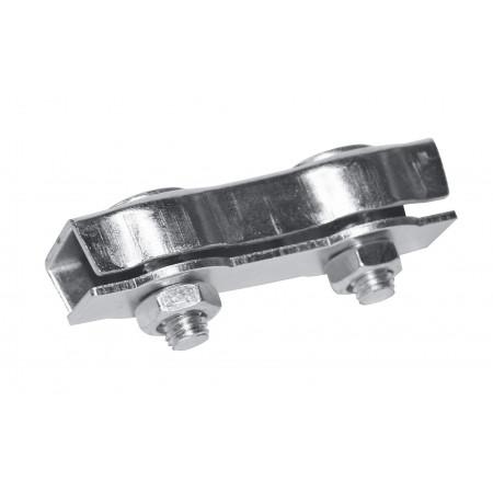 Connecteur cordelette zinguée 6mm