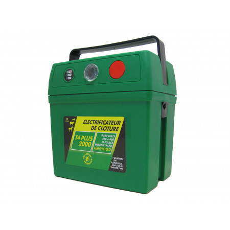 Electrificateur à pile T4 Plus 2000 9V 150/300mJ