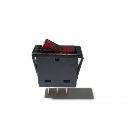 Interrupteur 20A à bascule rectangulaire avec voyant