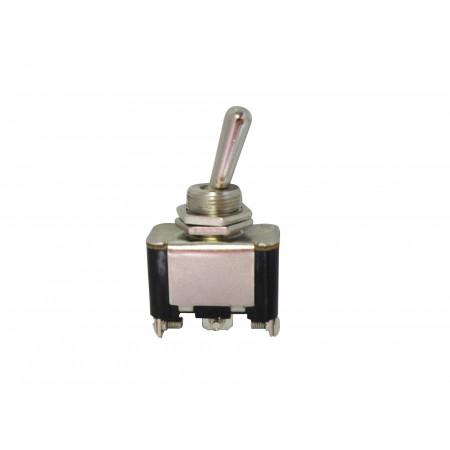Interrupteur inverseur 16A métal 3 positions