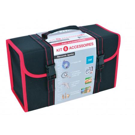 Kit compresseur 7 accessoires