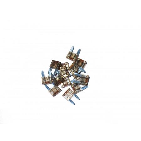 Lot de 10 Mini fusibles orange 5A