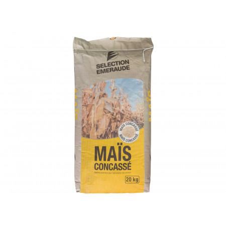 Maïs concassé Sélection Emeraude 20kg