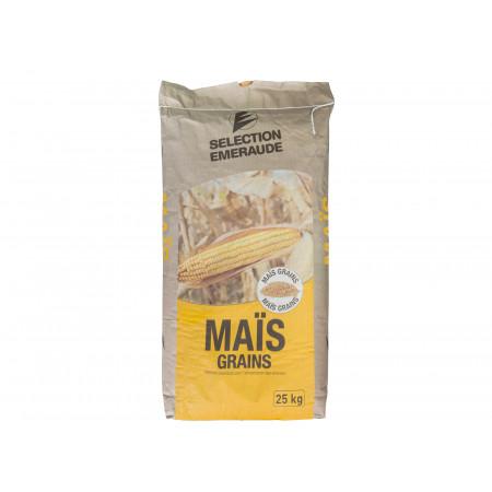 Maïs grains 25kg Sélection Emeraude
