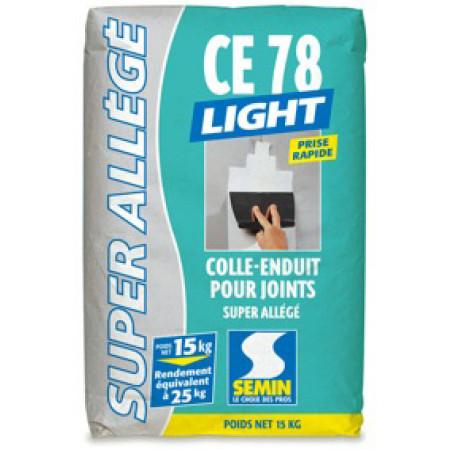 Colle-enduit 2h pour joint CE78 lent 15kg