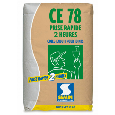 Colle-enduit CE 78 2h 25kg