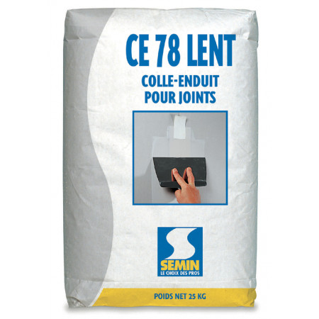Colle-enduit CE 78 lent 25kg