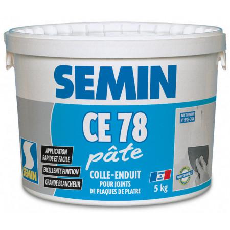 Colle-enduit CE 78 pâte SEMIN 25kg