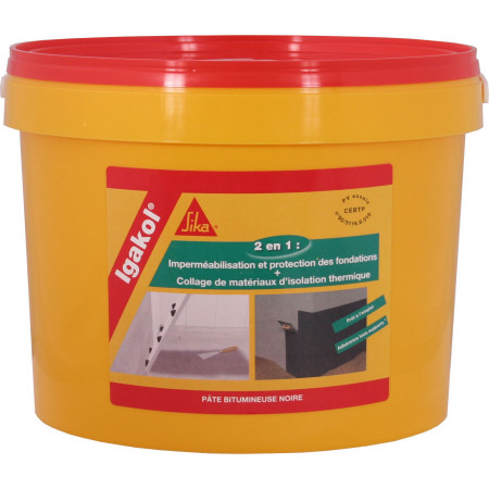 Colle isolation thermique SIKA IGAKOL® 5kg