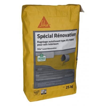 Enduit De Ragréage Autolissant Fibré Sika® Level Rénovation 25kg