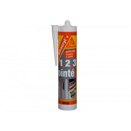 Mastic SIKACRYL®+ 300ml - 4 coloris