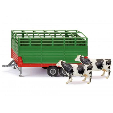 Remorque à bétail SIKU 1/32e