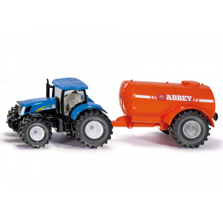 Tracteur New Holland avec réservoir de lisier SIKU 1/50e